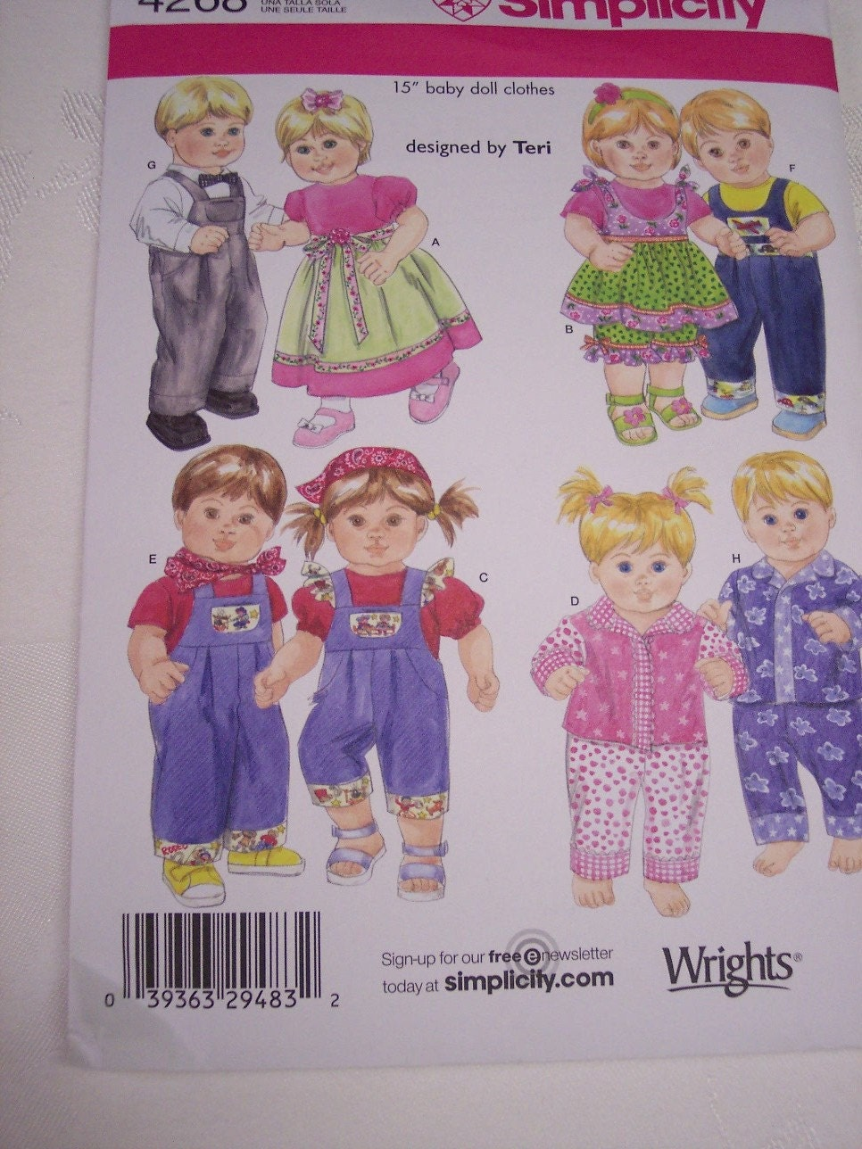 Bitty Baby Doll Clothes Pattern Bitty Twins Doll Clothes