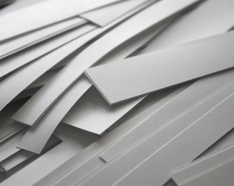 Large Box of White Paper Scraps