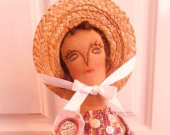 Primitive Peddler Doll Dollmakers On ETsy Euc EtsyfolK