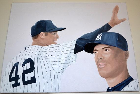 Mariano Rivera New York Yankees Painting 18x24 inch Canvas