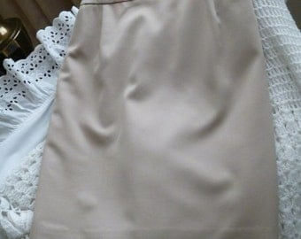Vintage Anne Klein Pure Wool Skirt