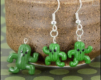 Cactuar Charm or Earrings (Made to Order)