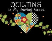 QUILTING, is my Saving Grace T-Shirt, XXlg- XXXlg, Wholesale, 2 per pack per size