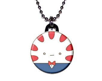 Adventure Time Image Necklace - Peppermint Butler