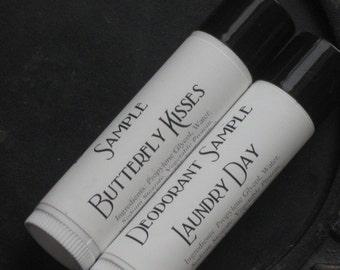 Vegan Deodorant Samples - 2pc