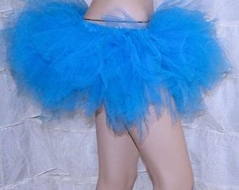 Turquoise Blue Trashy TuTu Skirt All Sizes MTCoffinz
