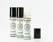 Magnolia Perfume Oil | Roll On Perfume Oil, Classic Floral Fragrance, Cologne Oil, Gift Bestfriend, Shower Favor, Teacher Hostess Gift