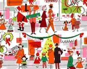 Merry Main Street by Alexander Henry Fabrics