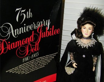 Effanbee 75th Anniversary Doll 1985 in Box 7118 Diamond Jubilee
