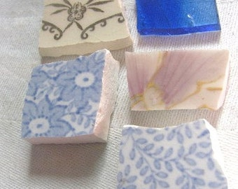 Old Mosaic Tiles For Jewelry Craft Projects