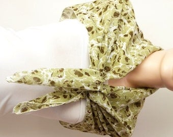 Cotton Scarf, Winter Accessories, GREEN Spring Scarf
