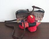 SALE - Small Shoulder Bag - VINTAGE / Hip/Tribal/Vintage/Hmong/Miao/Ethnic/Unique bag - 1001
