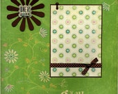 Girl Scouts - One Smart Cookie - 12x12 Premade Scrapbook Page