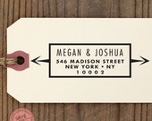 CUSTOM ADDRESS STAMP with proof from usa, Eco Friendly Self-Inking stamp, return address stamp, custom stamp, custom address stamp Name57