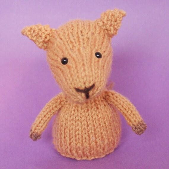 Camel Toy Knitting Pattern PDF