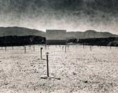 Drive-in of the Apocalypse Arizona Photography, Ghost Town, Abandoned Desert 8x10  Signed Photograph, Abandoned
