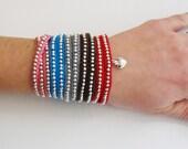PDF Pattern - Crochet Wrap Bracelet -