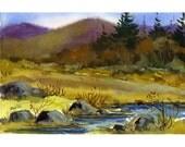 Original Watercolor 82 - by Jean Hutter