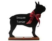 Boston Terrier chalkboard, French Bulldog chalkboard, Bulldog chalkboard, or Bull Terrier chalkboard - Blackboard - A Pet Lover Favorite