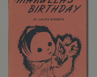 Manuela's Birthday Vintage Book