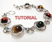 TUTORIAL - Twice Around The World (TAW) Wire Wrapped Bracelet