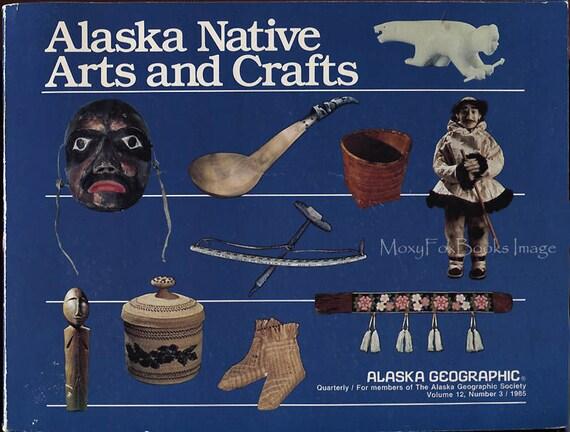 1985 alaska native arts and crafts alaska by moxyfoxbooks for Native arts and crafts