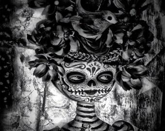 Dia De Los Muertos Doll PRINT 372 from Photograph by Michael Brown/UC Studios
