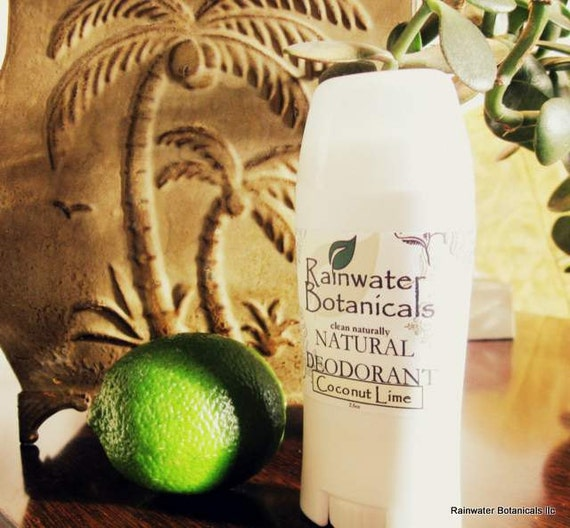 Coconut Lime AllNatural Deodorant closout sale