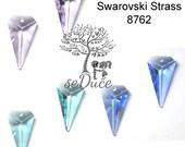 DESTASH 2 Swarovski Strass 8762 Arrow 25mm Pendant - Choose your color