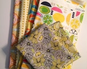 Yellow  fabric destash