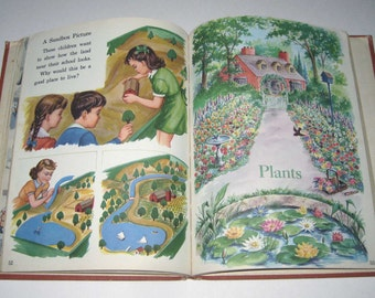 How Do We Know Vintage 1940s Children's School Reader or Textbook
