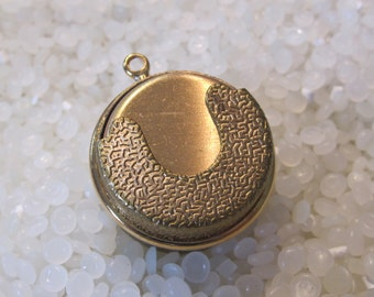 Vintage coin or token  holder Charm