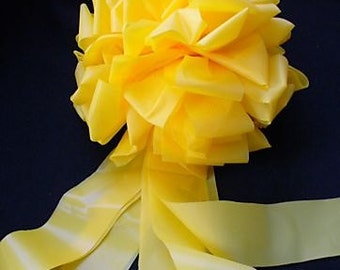 YELLOW RIBBON BOW weatherproof  for the Troops