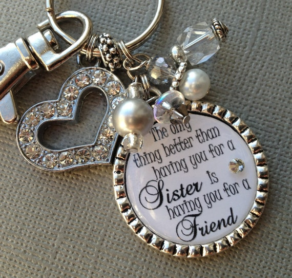 Good Wedding Gift Ideas For Sister : SISTER gift PERSONALIZED wedding quote birthday gift by buttonit