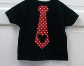 Mickey Tie T Shirt with Mickey Head