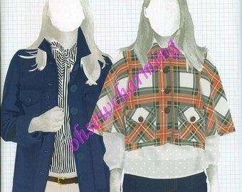 Built by Wendy Sewing Pattern Simplicity 4109 Jacket  Sizes 4-6-8-10-12 OUT OF PRINT