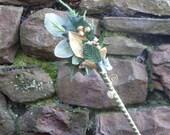 Flower Fairy Wand - Gold
