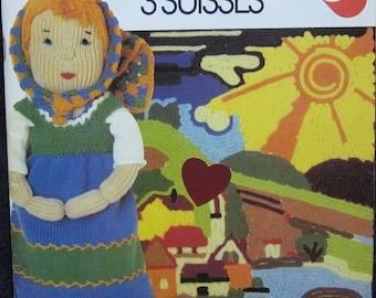 3 Suisses Bits & Pieces Crochet Pattern Book