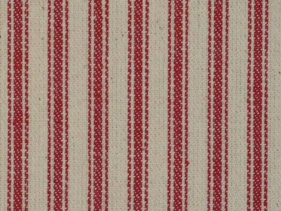 Ticking material ticking fabric red striped material for Ticking fabric