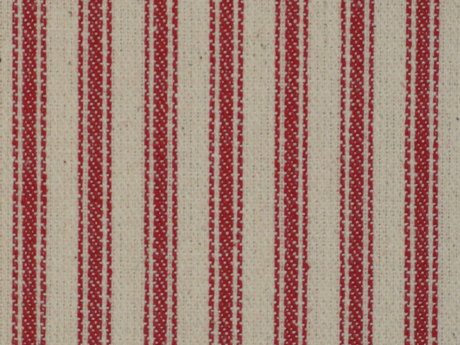 Red twill ticking material red striped material woven for Ticking fabric