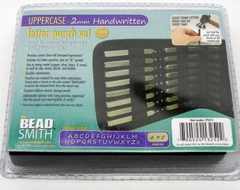 2mm Handwritten Uppercase Punch Set 27 Pc.