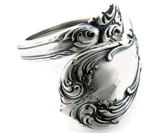 Sterling Silver Spoon Ring Old Master Towle Demitasse Size 4-9