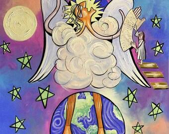 Revelation Chapter 10 Fine Art Print Anthony Falbo