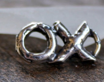 Charm XO Charm Kisses and Hugs Sterling silver