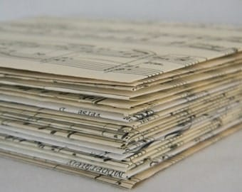Vintage Music envelopes