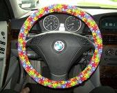 Autism Awareness Steering Wheel Cover