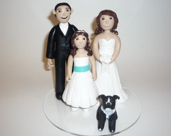 Wedding Cake Topper - Custom designs