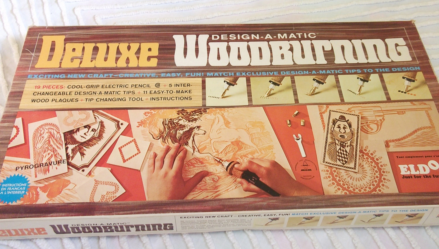wood burning set