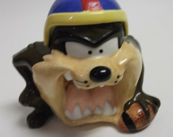 90's Vintage Tazmanian Devil Cookie Jar TAZ