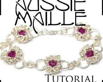 Chainmaille Tutorial - Romanov Bracelet